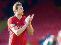 Aberdeen's Ash Taylor.