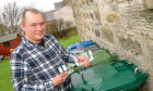 Gordon Simpson, inventor of the Walrus Wheelie Bin Bracket