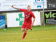 Brora's Paul Brindle scored the winning goal at Bellslea against Fraserburgh. Picture by Kath Flannery