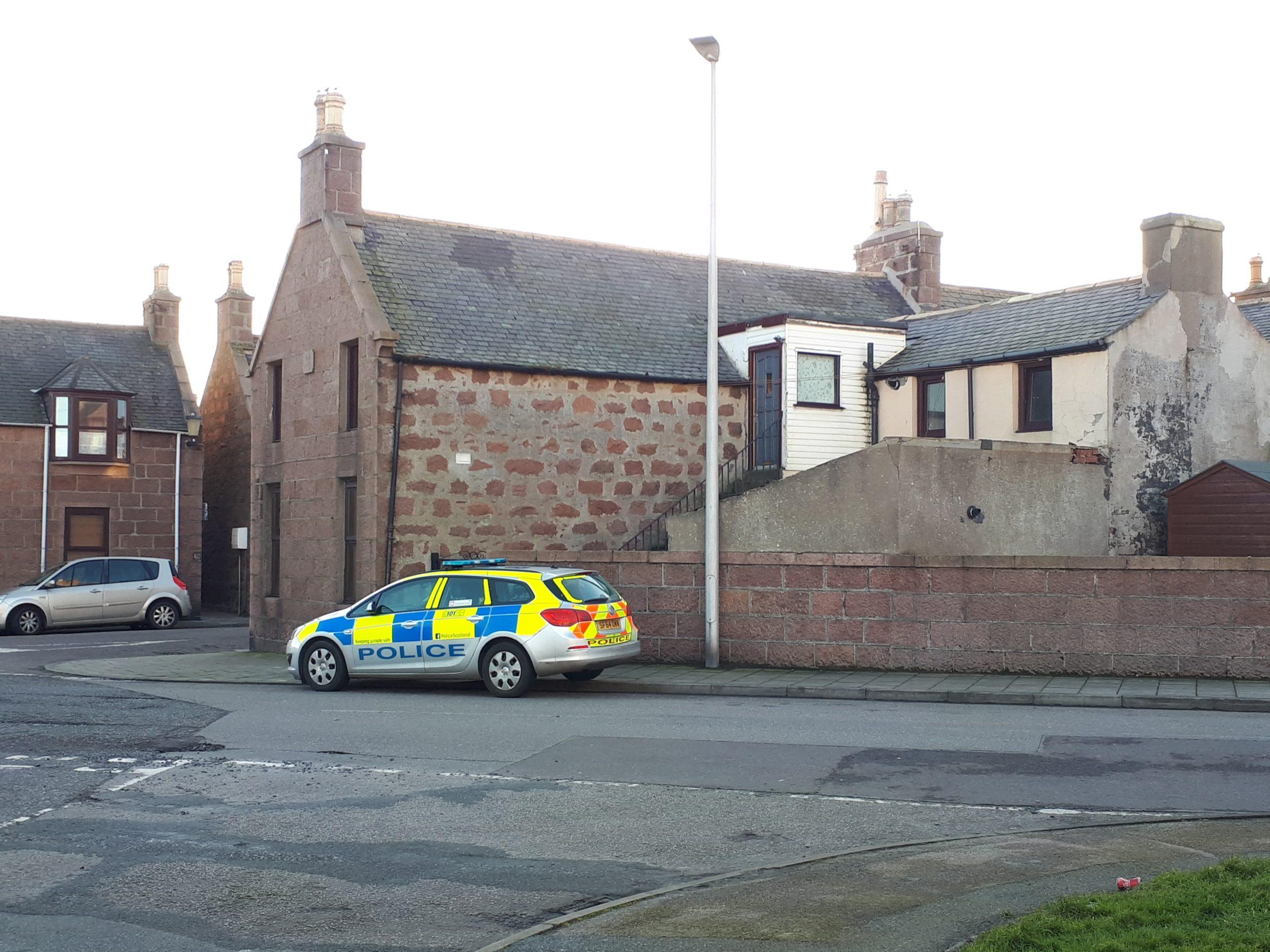 Police on East North Street