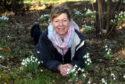 Castle Fraser head gardener Ruth Wardle