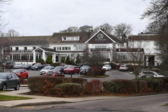 The Treetops Hotel in Aberdeen.
