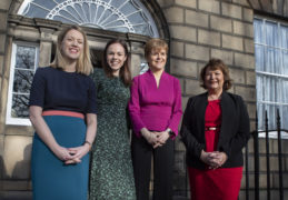 New finance minister Kate Forbes and First Minister Nicola Sturgeon.