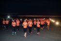 Aberdeen International Airport midnight runway run    Aberdeen Runway Run 2019    Picture by Abermedia / Michal Wachucik