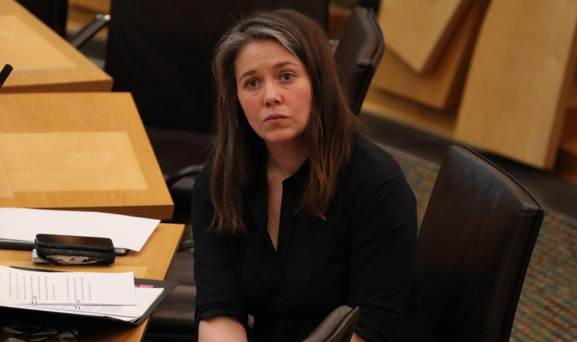 Communities Secretary Aileen Campbell.