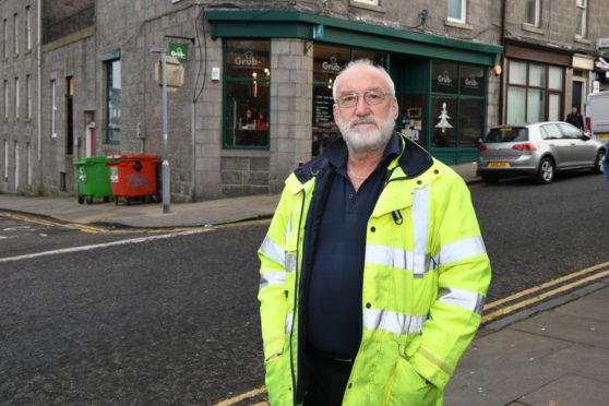 Allan Rae prevented a potentially fatal crash.