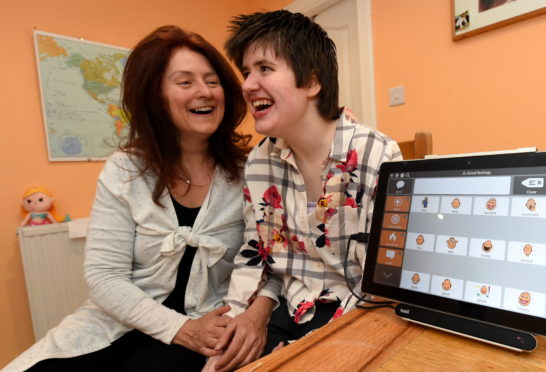 Amy O'Brien with her mother Natasha. Picture by Jim Irvine