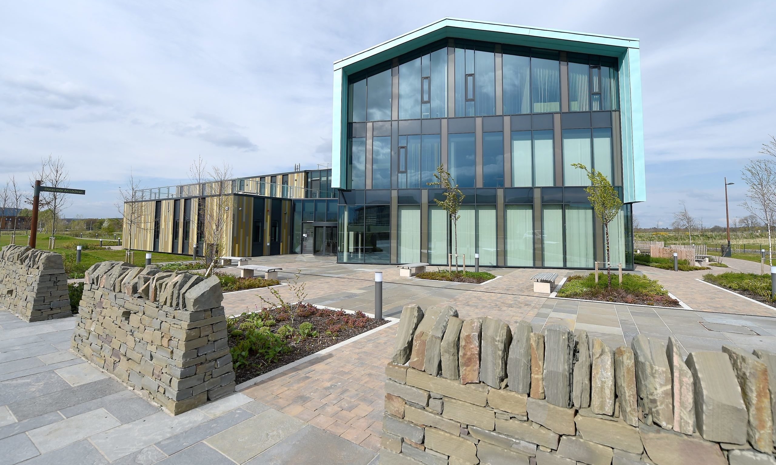 An Lochran, headquarters for HIE and the Scottish Rural College. Picture by Sandy McCook.