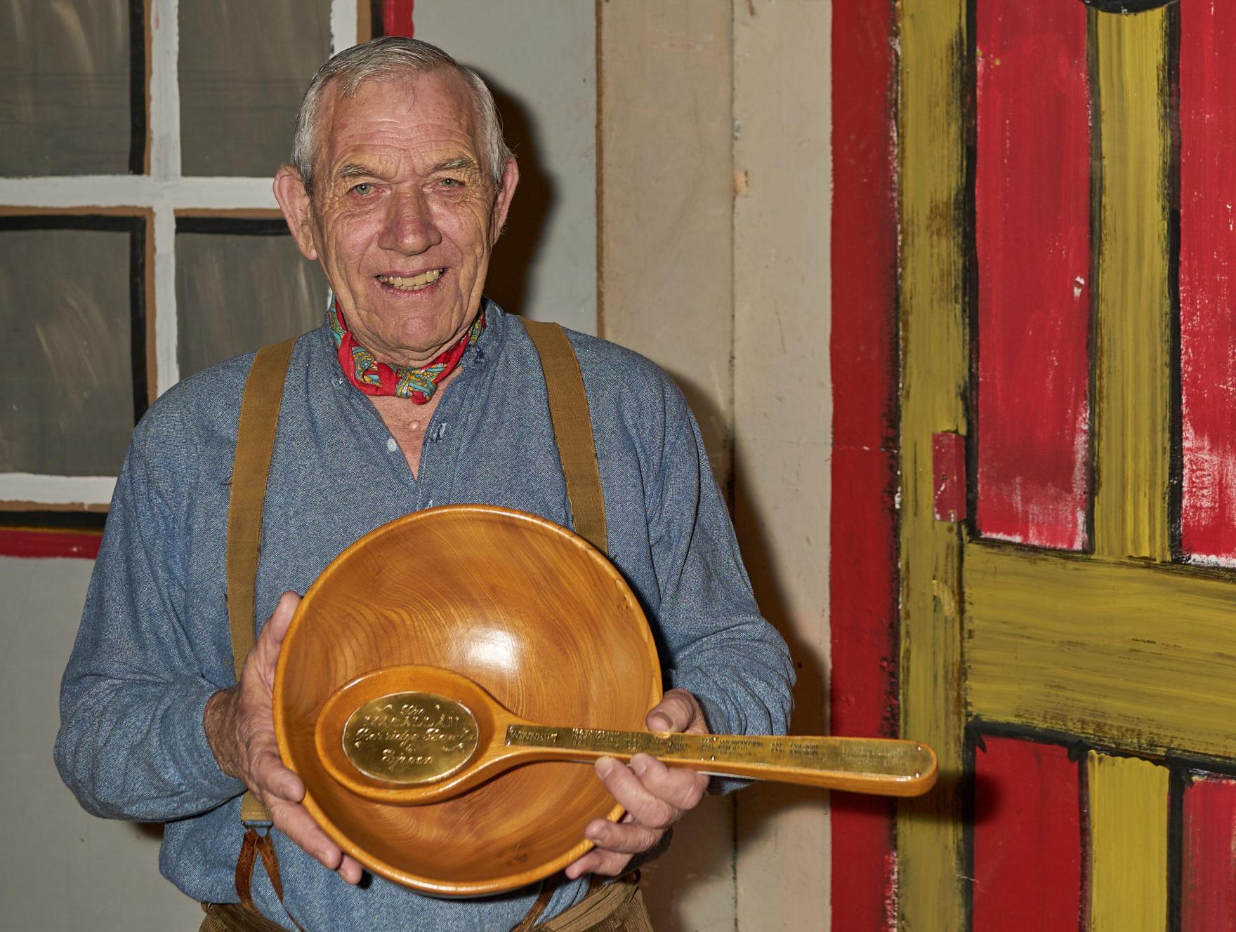 Winner Joe Aitken from Kirriemuir