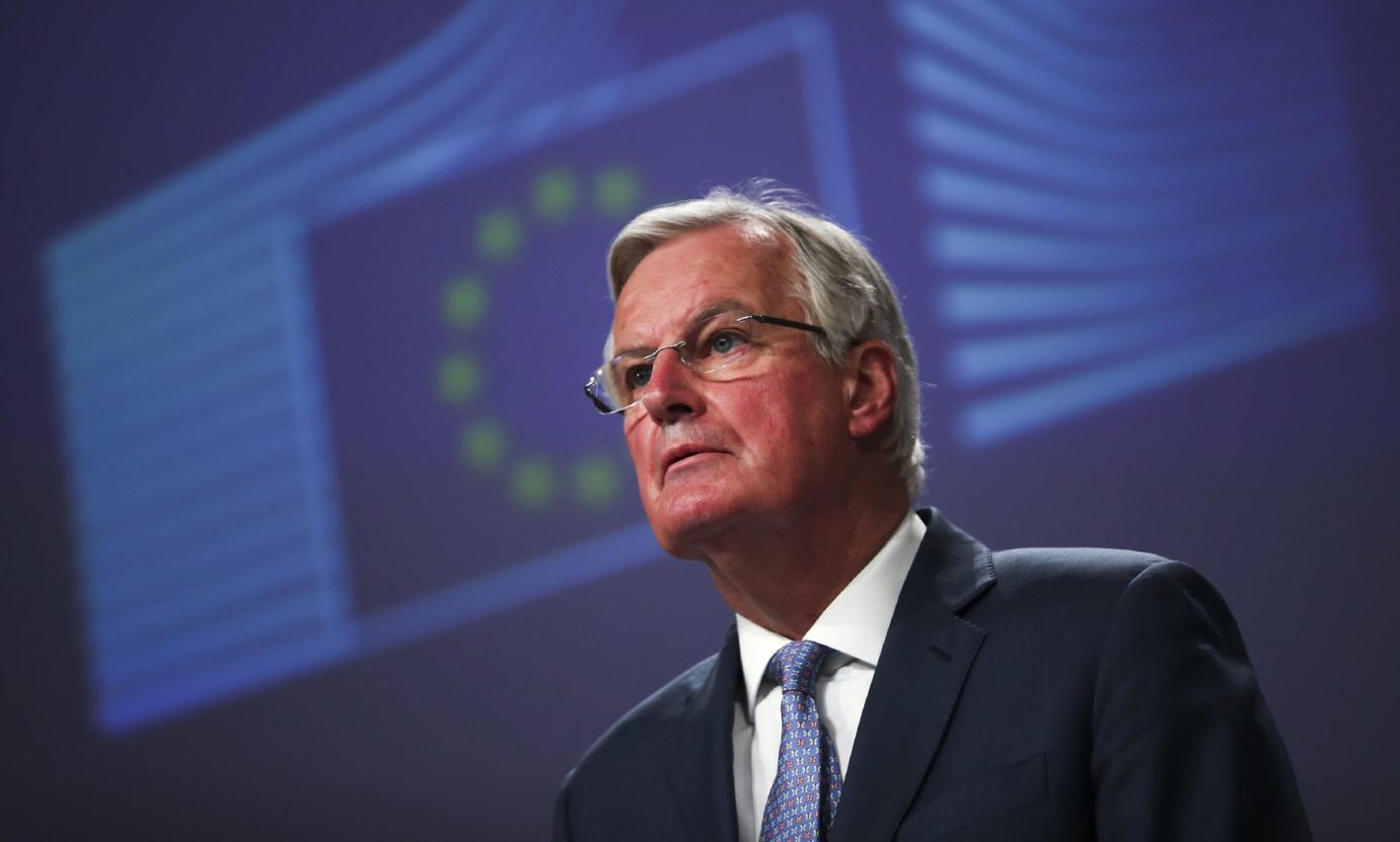 European Union chief Brexit negotiator Michel Barnier.