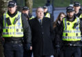 Alex Salmond arrives at the High Court in Glasgow for a preliminary hearing in his attempted rape case.