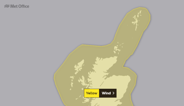 The Met office has issued a weather warning as Storm Ciara is set to hit the nation.