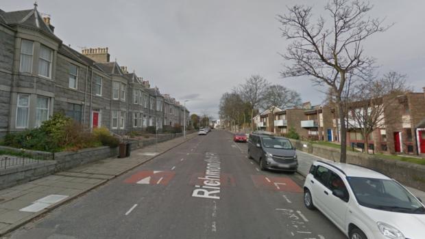 Richmondhill Place in Aberdeen