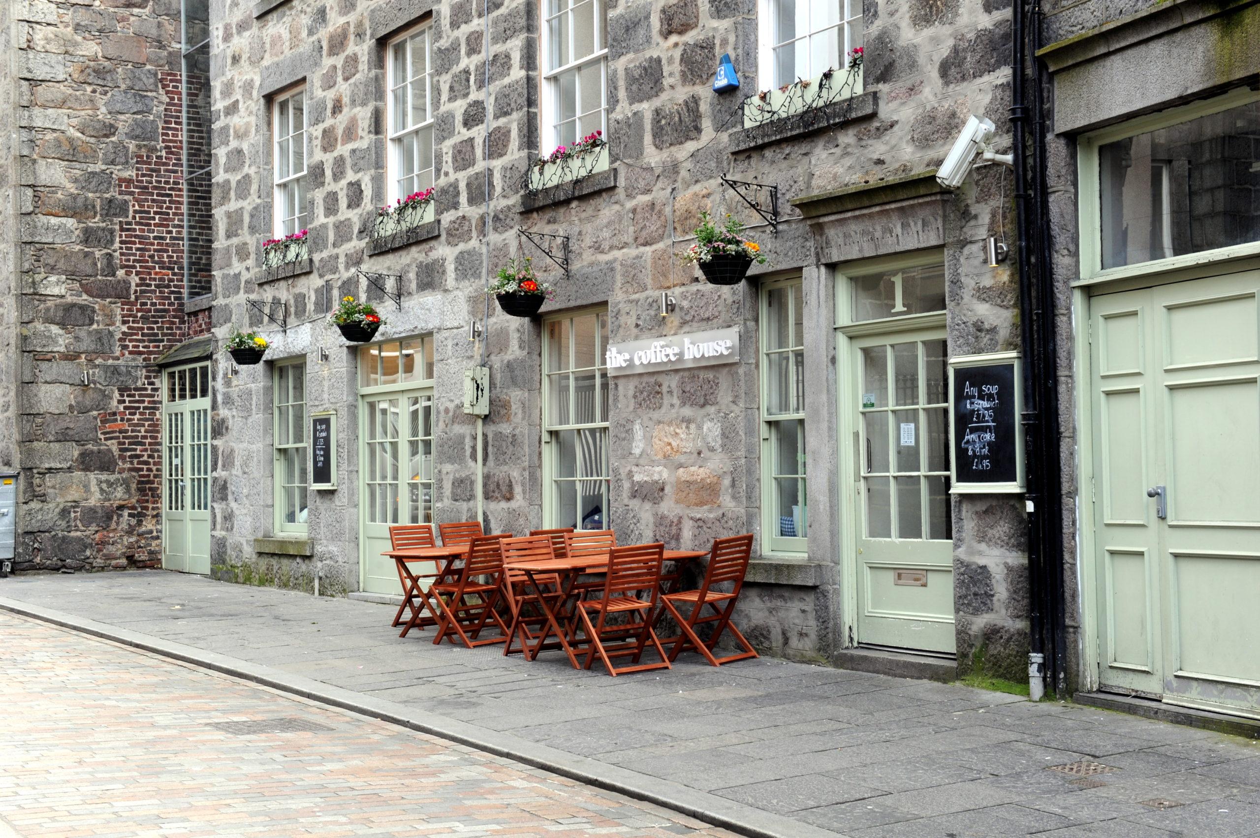 The Coffee House on Gaelic Lane