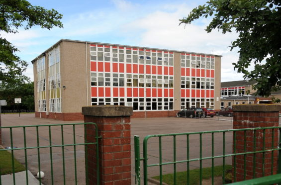 Kinloss Primary School in Moray. Picture by Sandy McCook
