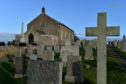 Work is to begin in the coming weeks to remove a large amount of bedrock at Portlethen cemetery. Picture by Kenny Elrick.