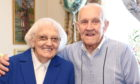 Olive and her husband Dod who are celebrating their platinum wedding anniversary this week  Picture by Paul Glendell