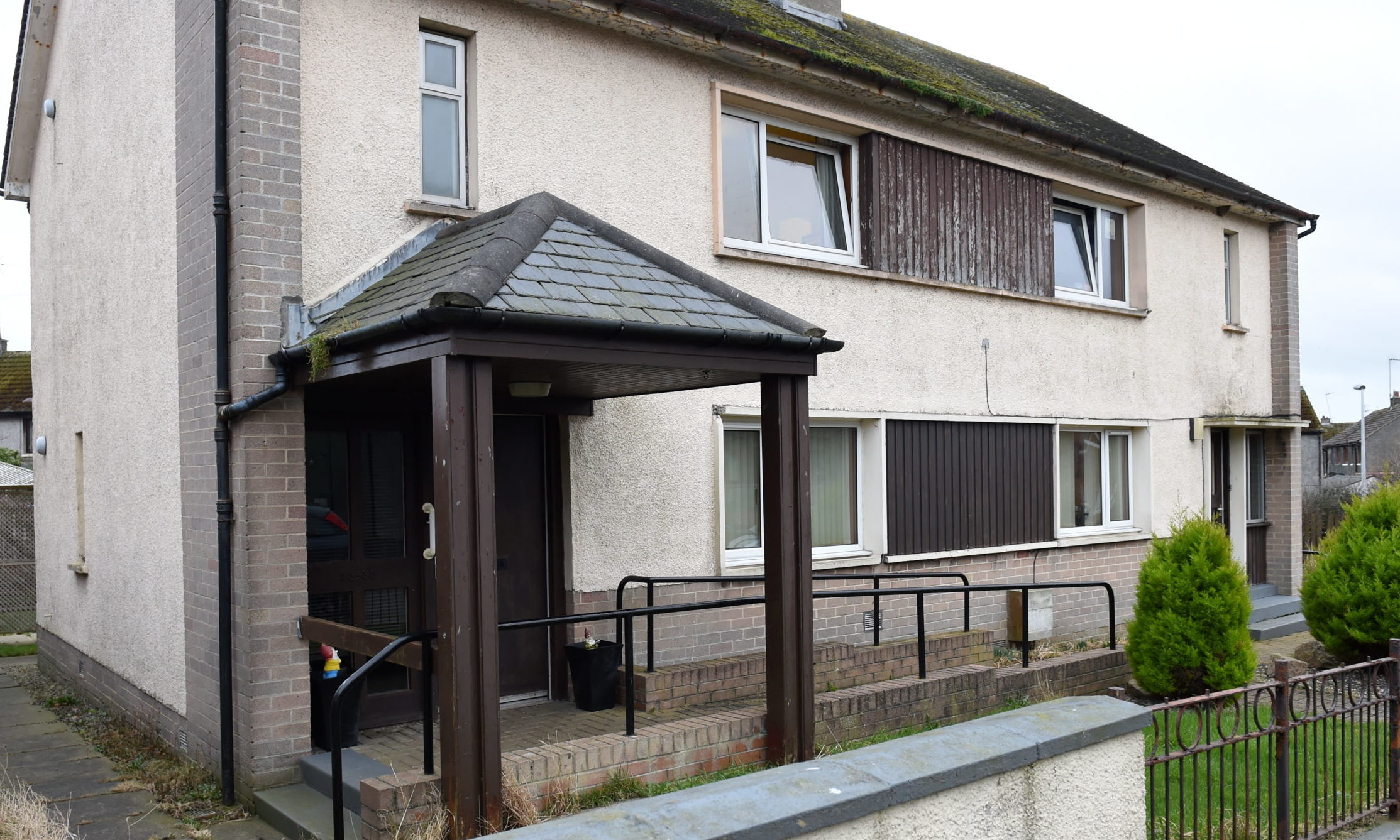The Duncan Crescent care home in Peterhead  Picture by Paul Glendell