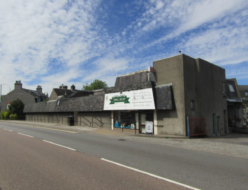 The former Chalmers Bakery on Auchmill Road