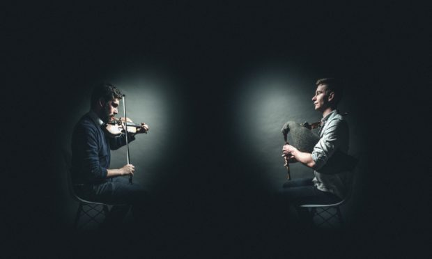 Jamie MacDonald and Christian Gamauf, performed at HebCelt 2019 as part of the partnership