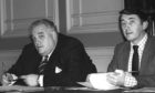 Liberal colleagues Cyril Smith and David Steel