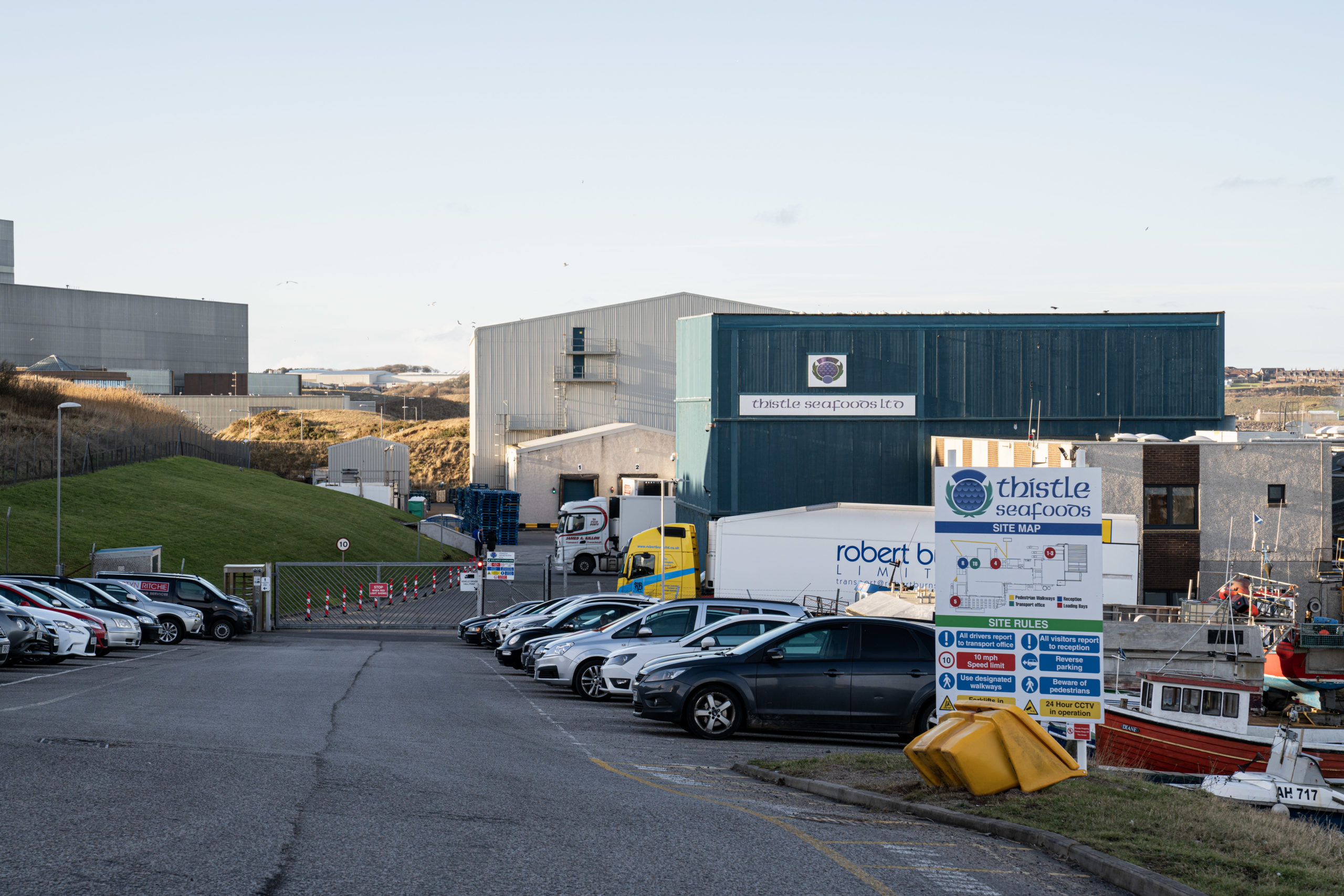 Thistle Seafoods, Boddam near Peterhead. Picture by Jamie Ross