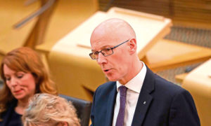 John Swinney said drag Queen's school visit should not have happened