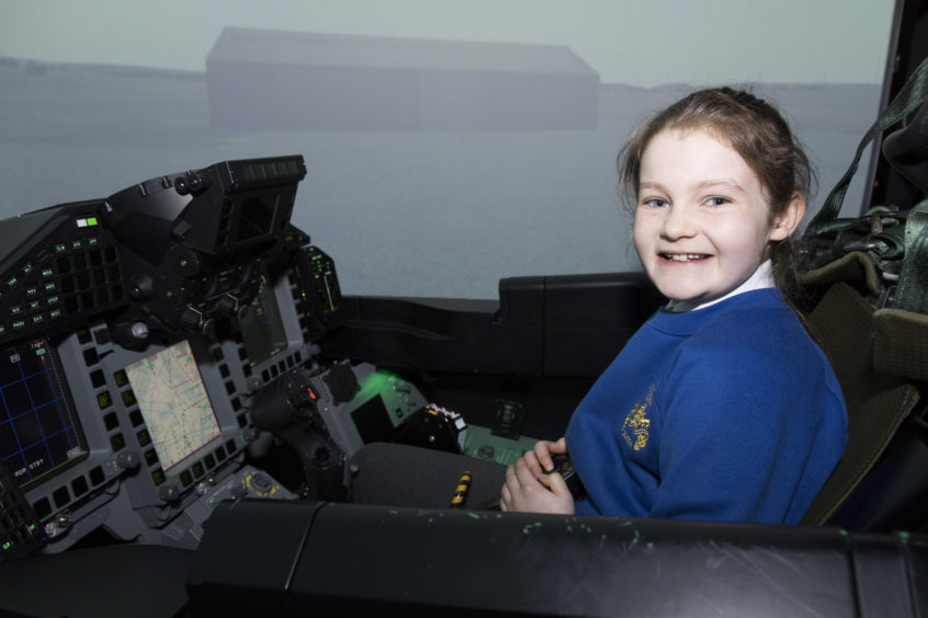Isla from St Sylvester's RC Primary School