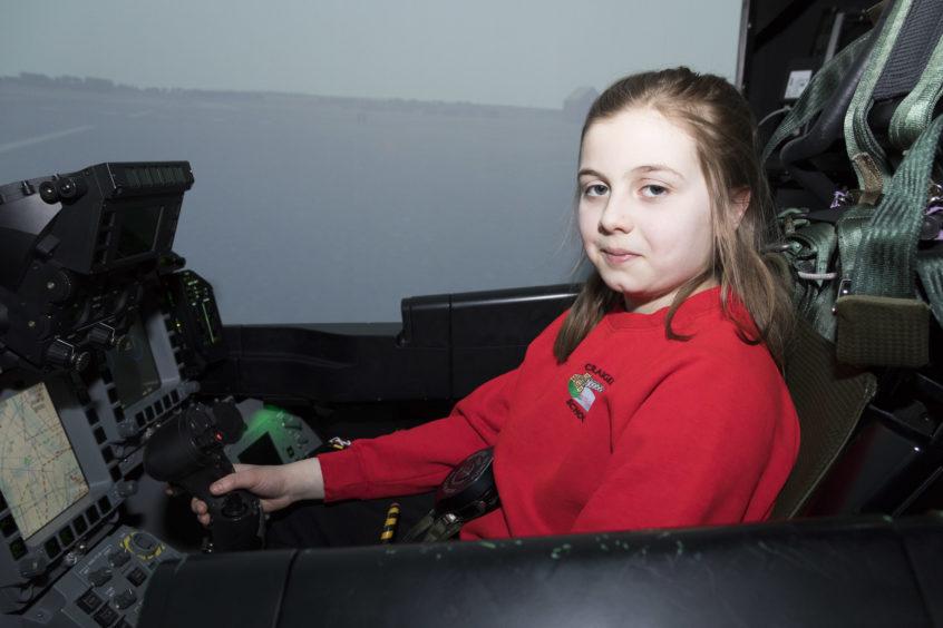 Rebecca from Craigellachie Primary School