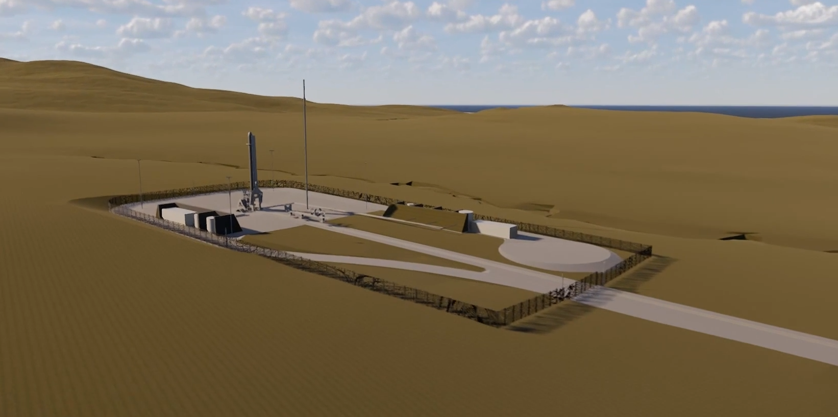 The proposed Space Hub Sutherland.