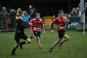 Moray Rugby Club in action.