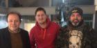 OH!CON volunteers (L-R): John Hayward, Richie Fletcher & Andrew Morrison.