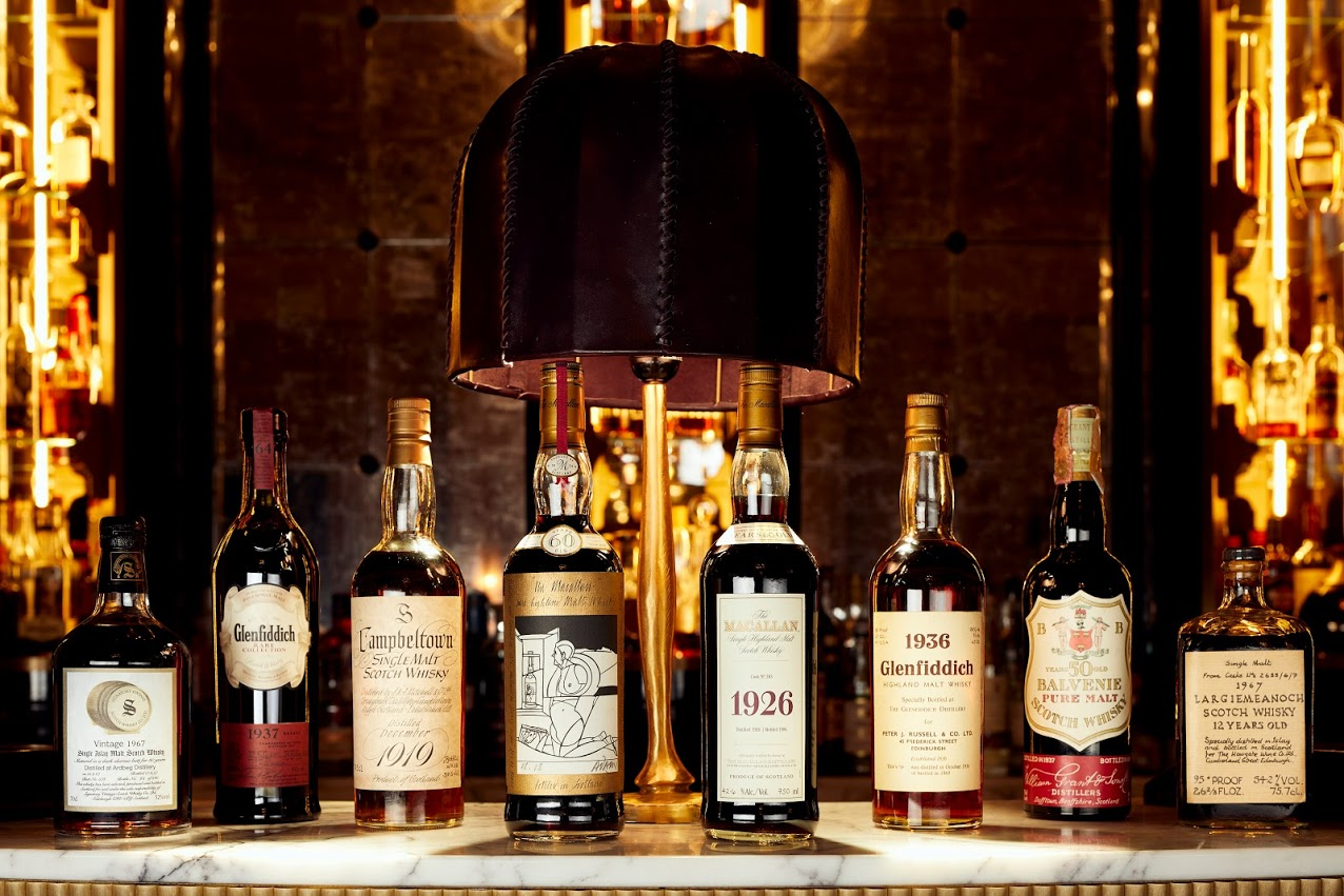 The collection includes rare bottlings from across Speyside, the Highlands and rest of Scotland.