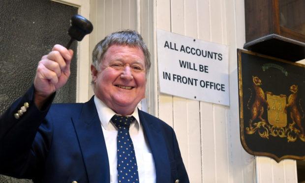 Graham Lumsden. Picture by Chris Sumner.