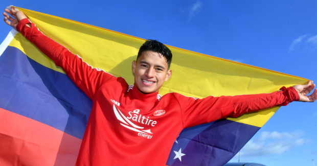 Ronald Hernandez hopes to make a big impression at Aberdeen