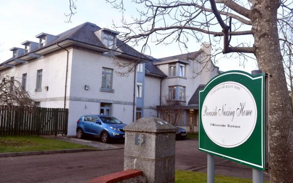 Riverside Nursing Home on Aberdeen's Riverside Terrace.  Picture by Chris Sumner.