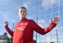 Aberdeen striker Sam Cosgrove