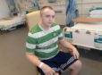 Matthew Mcatasney has suffered from an undiagnosed sinus infection which resulted in him being rushed to hospital after having fits as it had attacked his brain.  Picture by Kath Flannery