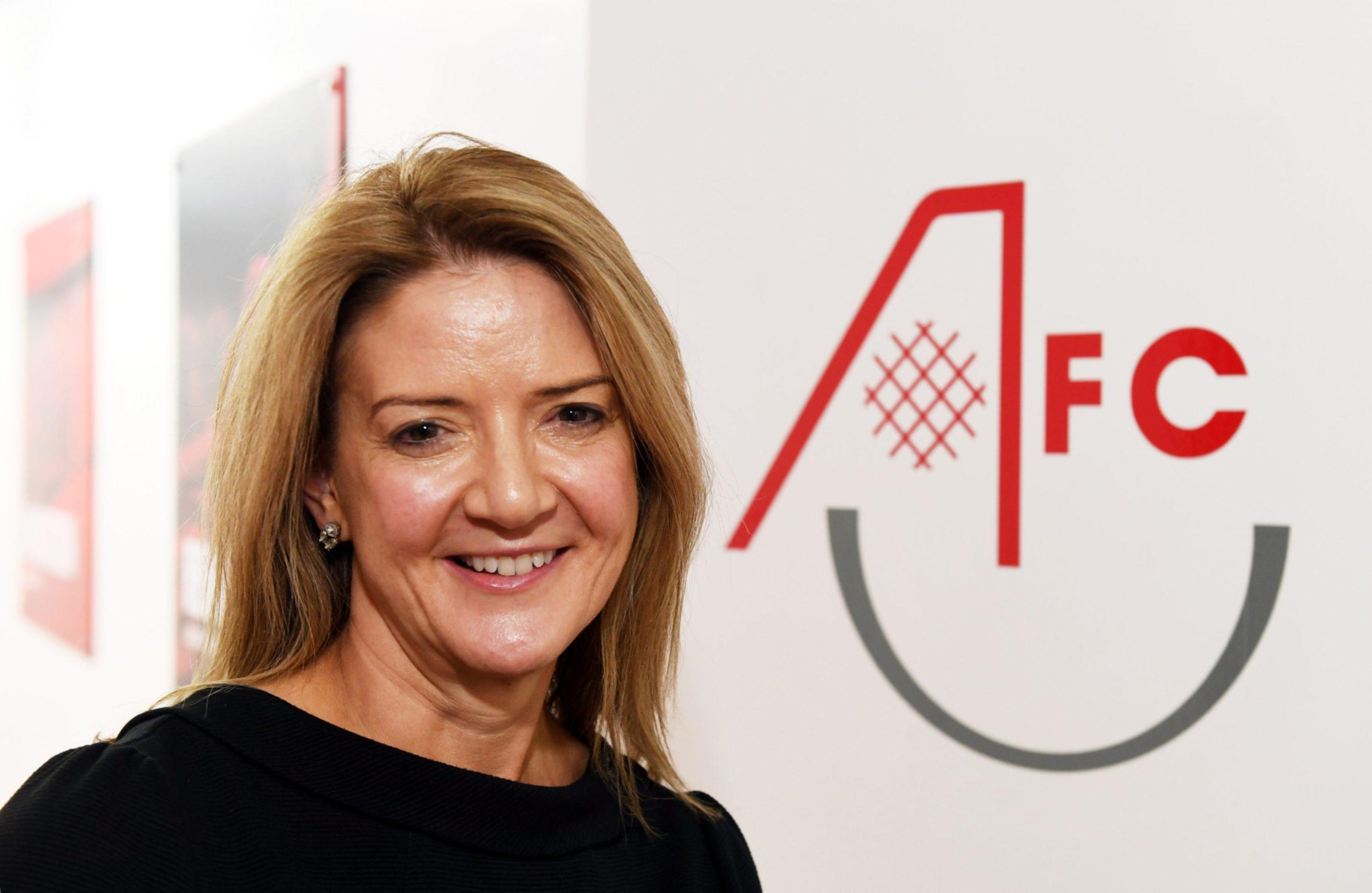 Aberdeen FC Community Trust chief executive Liz Bowie.