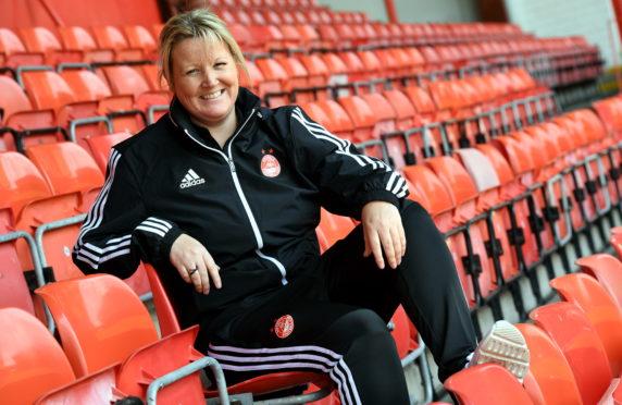 Aberdeen FC Women co-manager Emma Hunter.