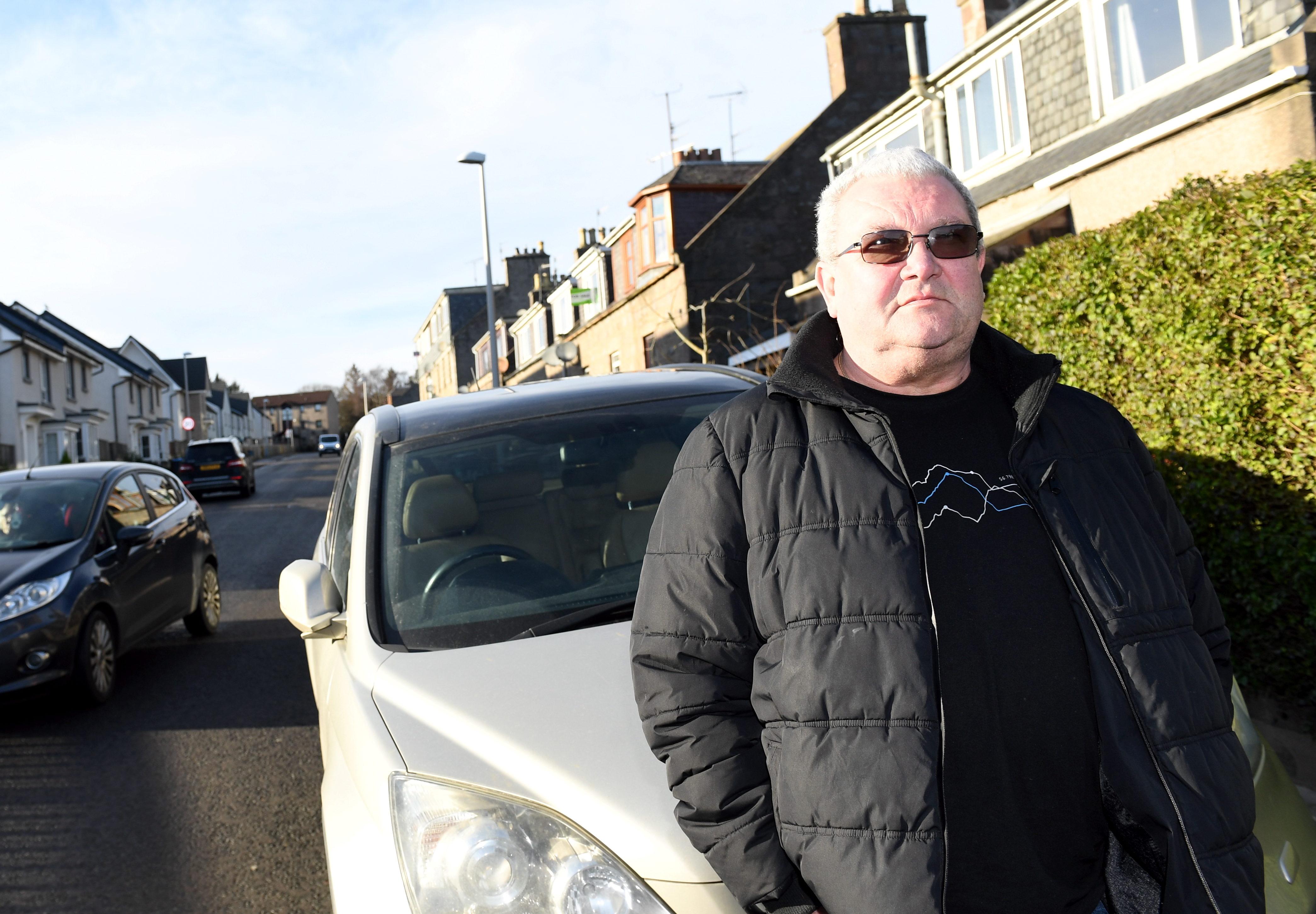 Gordon Ledingham of Muggiemoss Road. Picture by Kami Thomson
