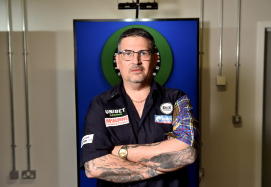 Two-time world champion Gary Anderson.