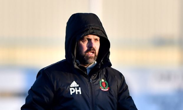 Cove manager Paul Hartley.  Picture by Scott Baxter