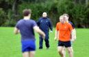 Gordonians head coach Ryan Morrice (centre).