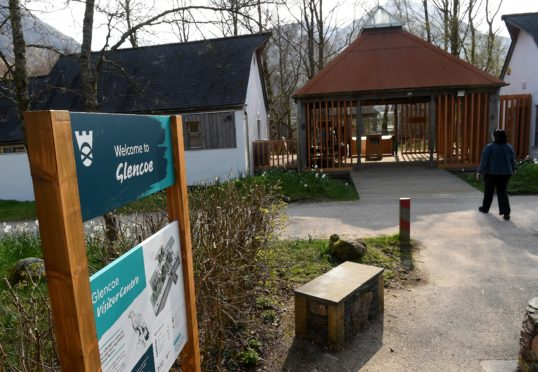 National Trust for Scotland visitor centre in Glencoe. Picture by Sandy McCook