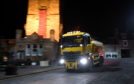 Generic photograph of a gritter out on the roads.  Picture by Kami Thomson.
