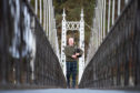 Piper Allan Sinclair on the Penny Bridge.  Pictures by Jason Hedges.