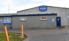 THE PRIME SEAFOODS FACTORY IN FRASERBURGH