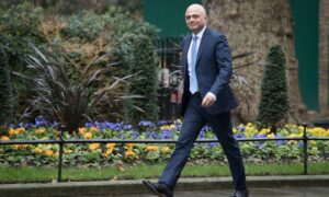 Health Secretary Sajid Javid said the UK Government has a 'plan B' for dealing with Covid this winter (Photo: PA)