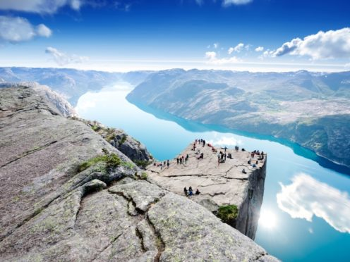 A port of call at Stavanger takes readers within reach of jaw-dropping Preikestolen also known as Pulpit Rock.